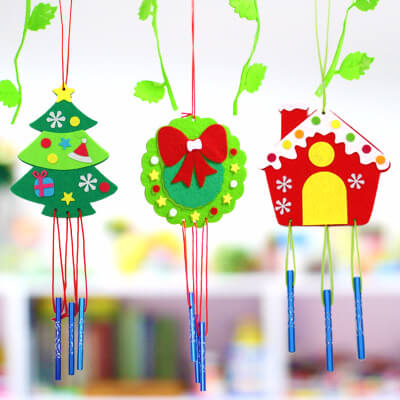 DIY Christmas/Winter Windchime Craft
