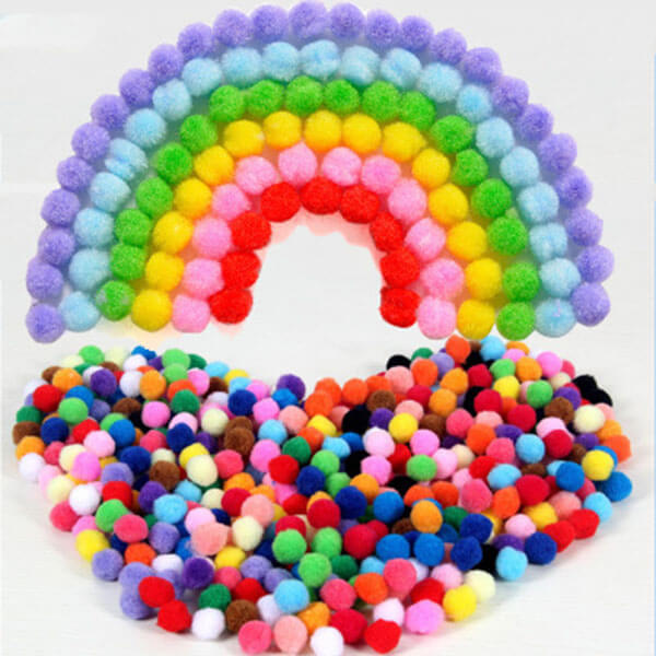 Craft Pompoms Set of 150