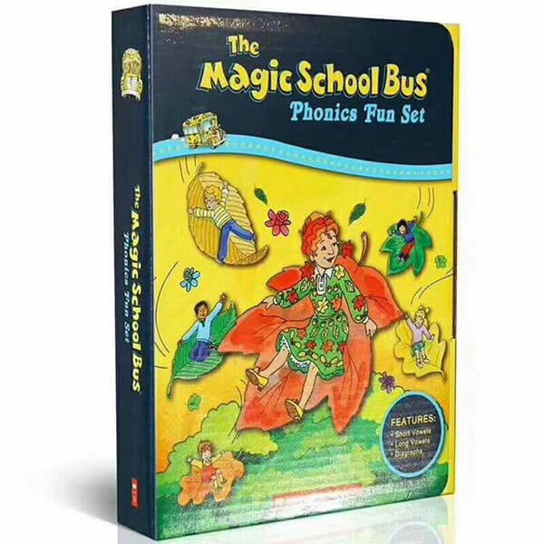 The Magic School Bus Phonics Fun Set