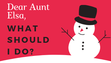 Aunt Elsa, the Teaching Super Hero, saves Christmas!