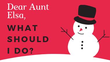 Aunt Elsa, the Teaching Super Hero, saves Christmas!