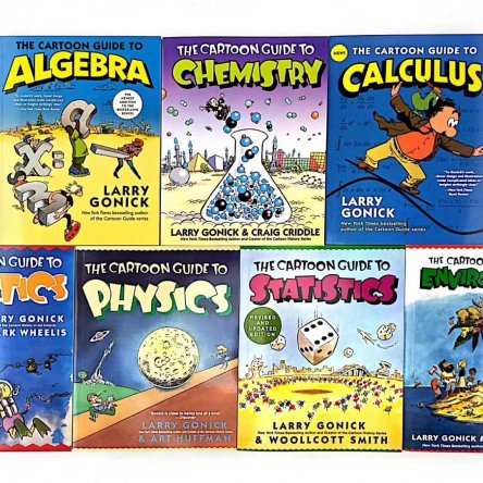 Educational Comic Books (7 book set)