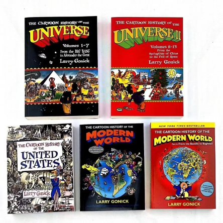 Educational Comic Books (Set of 5)