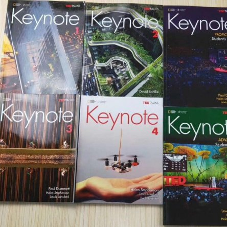 Keynote – TED Talk Textbooks