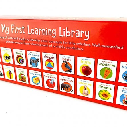 My First Learning Library (20 board books)