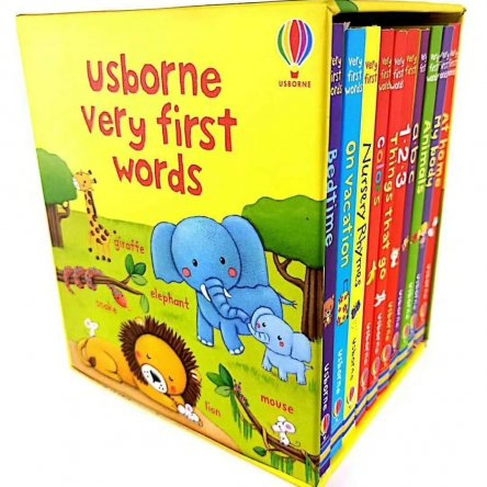 Usborne Very First Words (10 board books)