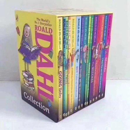 Roald DAHL (15 books)