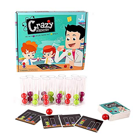 Crazy Scientist Logic Puzzle Game
