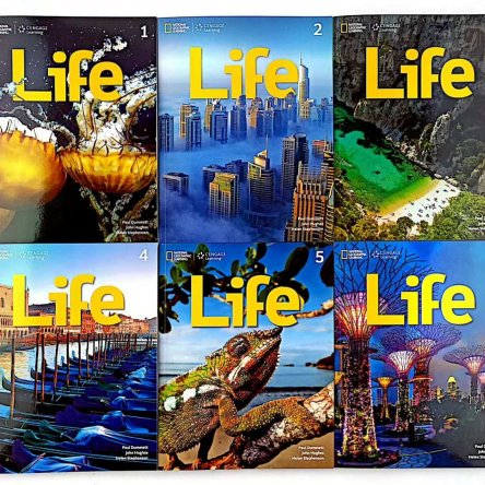 National Geographic Learning Life 1-6 (6 book set)