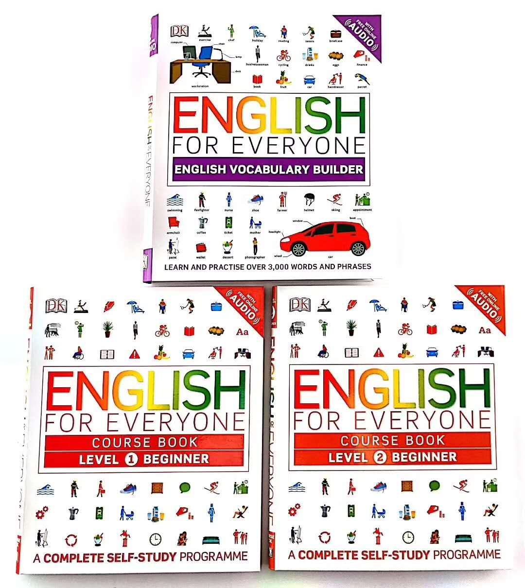 English for Everyone (Set of 3)