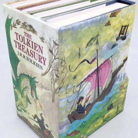 The Tolkien Treasury Collection (4 book set)