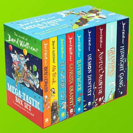 David Walliams Mega-tastic Box Set (9 Books)
