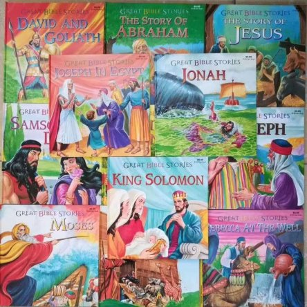 Great Bible Stories (12 Book Set)