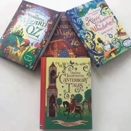 Usborne Illustrated Classic Tales – 4 book set