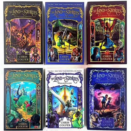 Land of Stories – 6 book collection
