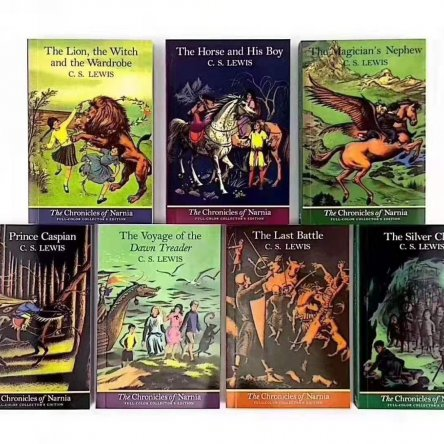 The Chronicles of Narnia – 7 book collection