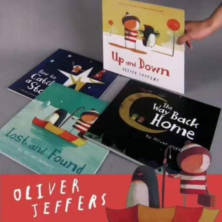 Oliver Jeffers 4 book set