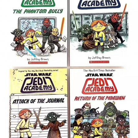 Star Wars Jedi Academy Trilogy – 4 book set
