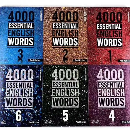 4000 Essential English Words – books 1-6