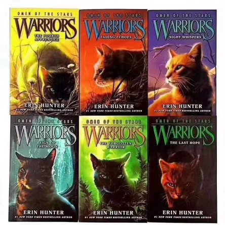 Warriors – 6 book collection