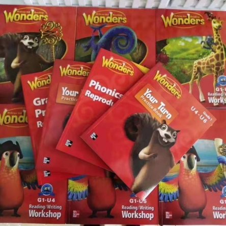 Reading Wonders (Grade 1) – 10 book set