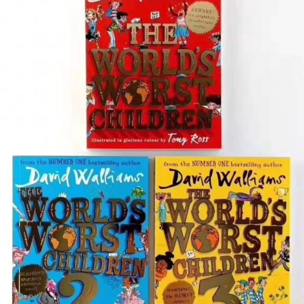 The World's Worst Children – 3 book set