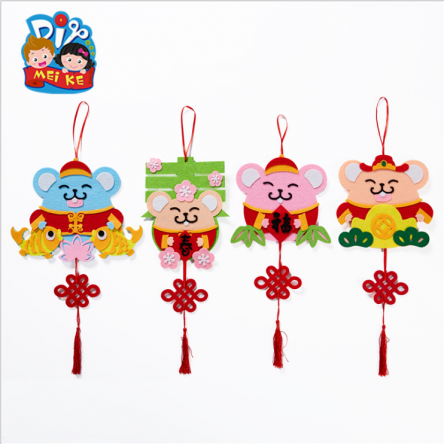 Chinese New Year DIY Craft – Mouse Hanger