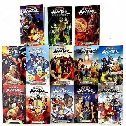 Avatar: The Last Airbender – 13 graphic novel set