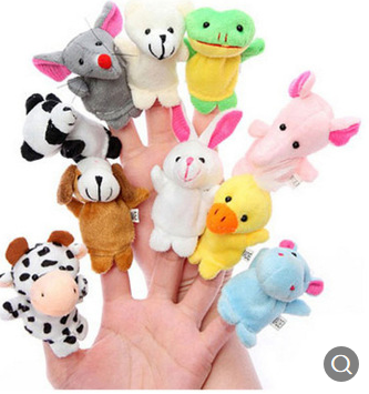 Finger Puppet Set – 10 puppets