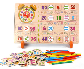 Math and Time Teaching Aid