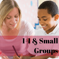 1&1 and Small Group Teaching