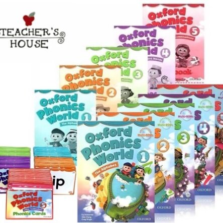 Oxford Phonics World Bundle