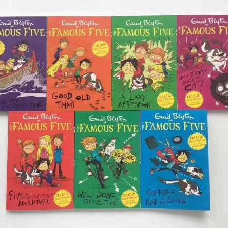 Enid Blyton's Famous Five – 7 book collection