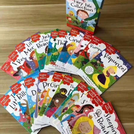 Reading with Phonics Fairy Tales Collection – 20 book set