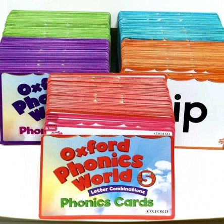 Oxford Phonics World Flashcards – Sets 1-5
