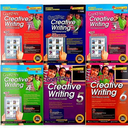Conquer Creative Writing – 6 book set