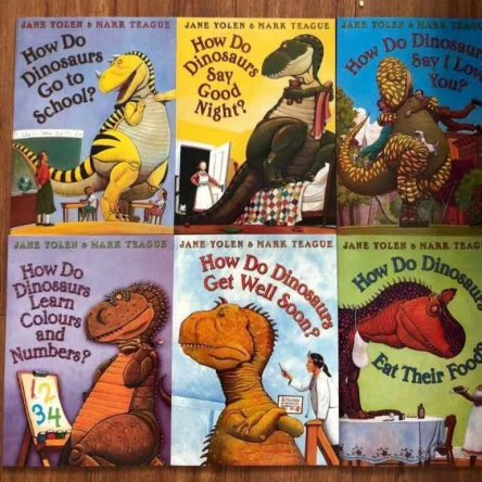 How Do Dinosaurs – 6 book set