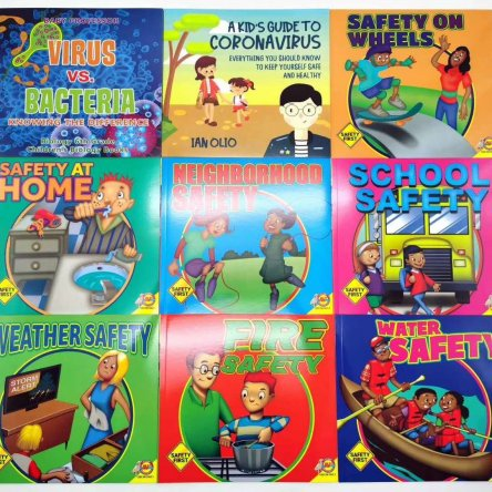 Safety Book Set