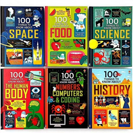 100 Things to Know About….6 book set