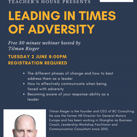 Leading In Times of Adversity Webinar