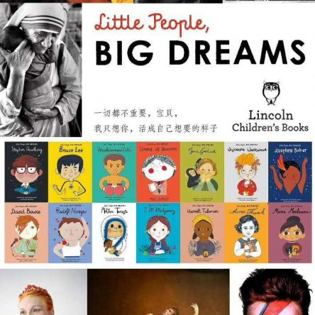 Little People Big Dreams 14 book set