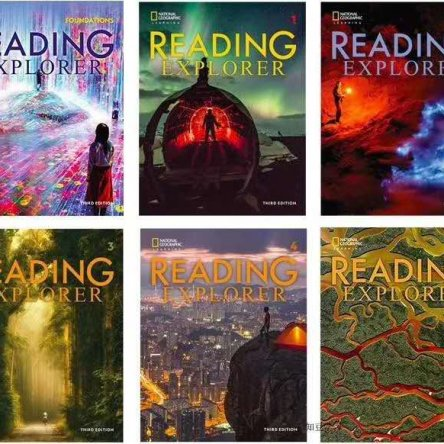 Reading Explorer – 6 book set