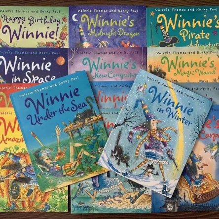 Winnie The Witch – 14 book set