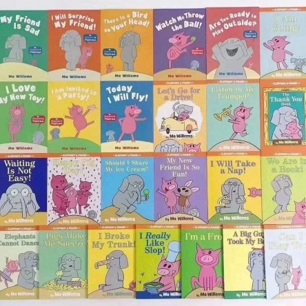 Elephant and Piggie – 25 book set