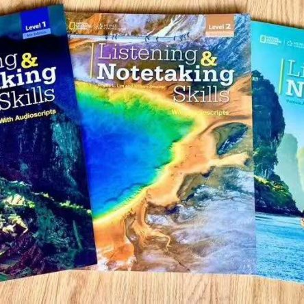 National Geographic Listening & Notetaking Skills – textbook set