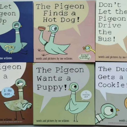 Don't Let The Pigeon Drive The Bus – book set
