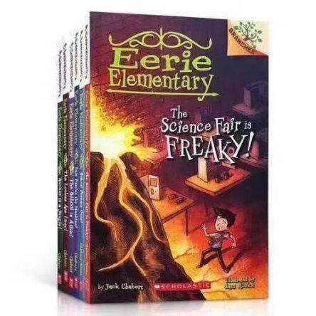 Eerie Elementary 10 Book Set