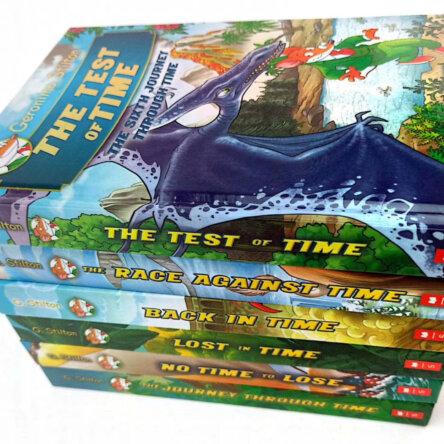 Geronimo Stilton The Journey Through Time Complete 6 Book Set