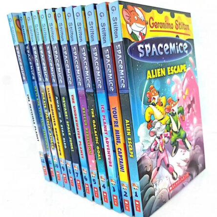 Geronimo Stilton Spacemice 12 Book Collection