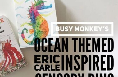 Ocean Themed Eric Carle Inspired Sensory Activities